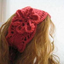 Lacy Ear Warmer - Woman's Size- $5