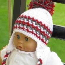 Hayden Ear Flap Hat- Baby to Man- $5
