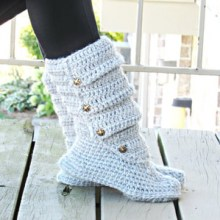 Woman's Slouch Boots, US sizes 5/6, 7/8. 9/10 - $5.50
