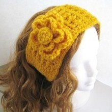Striped Ear Warmer - Woman's Size- $5