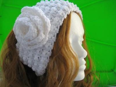 Textured Ear Warmer - Woman's Size- $5