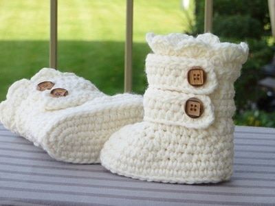 Toddler Classic Snow Boots, US sizes 5,6, 7 and 8- $5.50