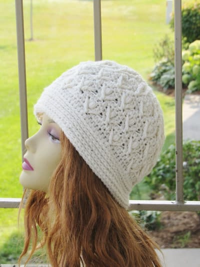 Tulip Garden Beanie- Toddler to Adult- $5