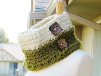 Knit Look Chunky Cowl, Toddler, Child Adult- $5