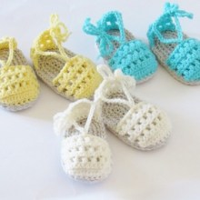 May Sandals- 0-6 &6-12 Months- $5