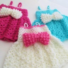 Little Bow Peep Dress- Newborn to 2 Years- $5
