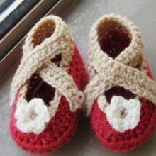 X-strap Booties, 0-12 Months, $5