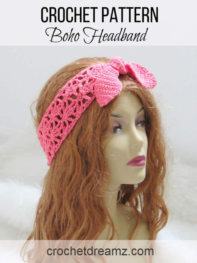 Crochet Headband Pattern For Women Crochet Dreamz