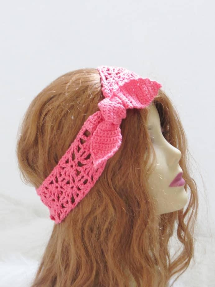 Crochet Headband Pattern For Women Crochet Dreamz