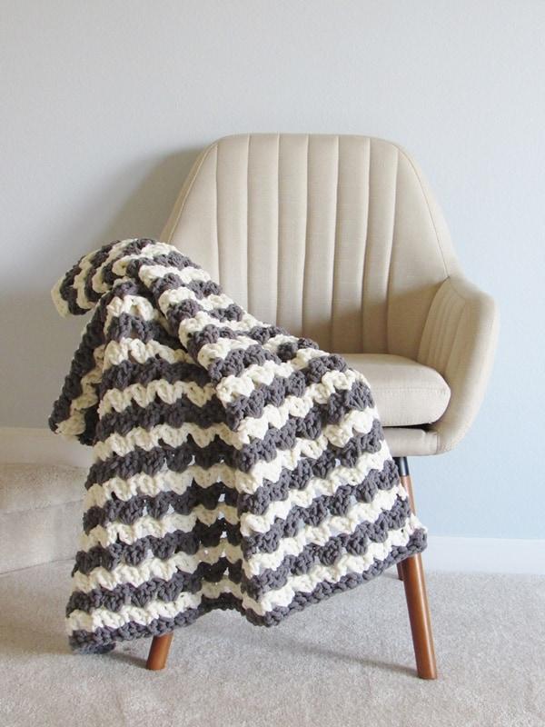 Free Crochet Blanket Pattern 3 Hour Afghan Crochet Dreamz