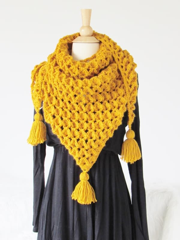Crochet Scarf Patterntextured Crochet Dreamz