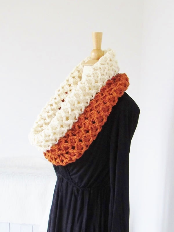 Textured Crochet Cowl Pattern Quick And Easy Crochet Dreamz