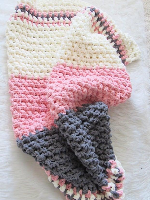 8be9355607b3 Free Crochet Baby Blanket Pattern - Crochet Dreamz