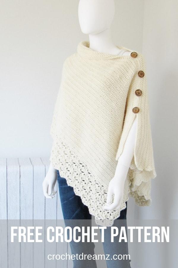 Free Crochet Poncho