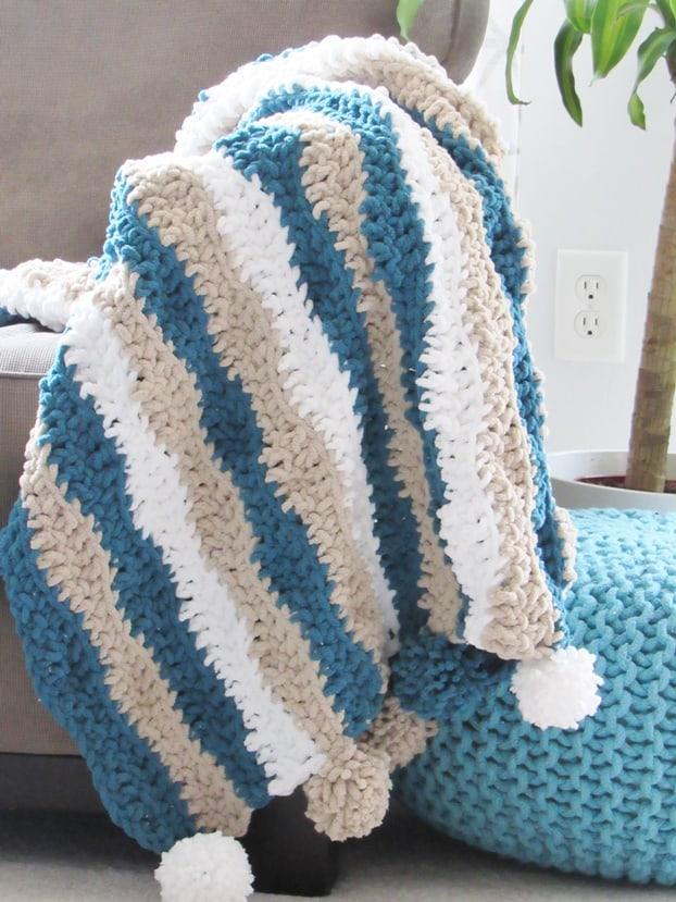 Easy Crochet Blanket For Beginners Crochet Dreamz