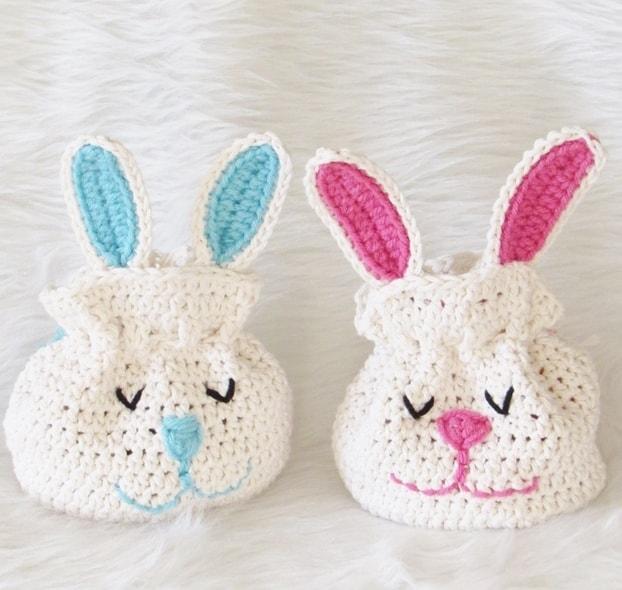 Crochet Bunny Bag