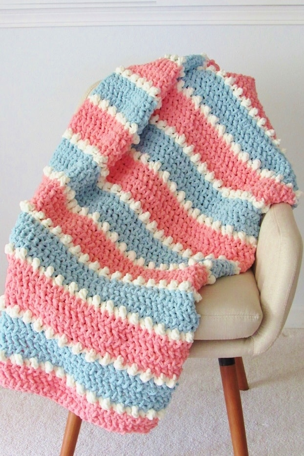 Easy Crochet Baby Blanket 6 Hour Blanket Crochet Dreamz
