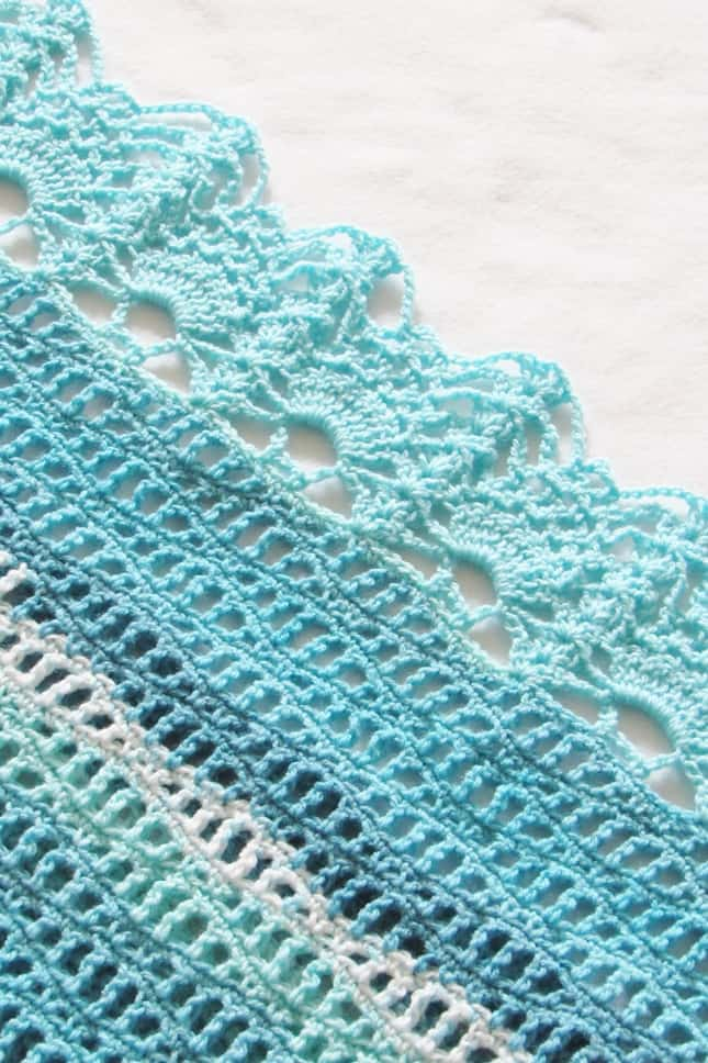Crochet Stitch for Poncho