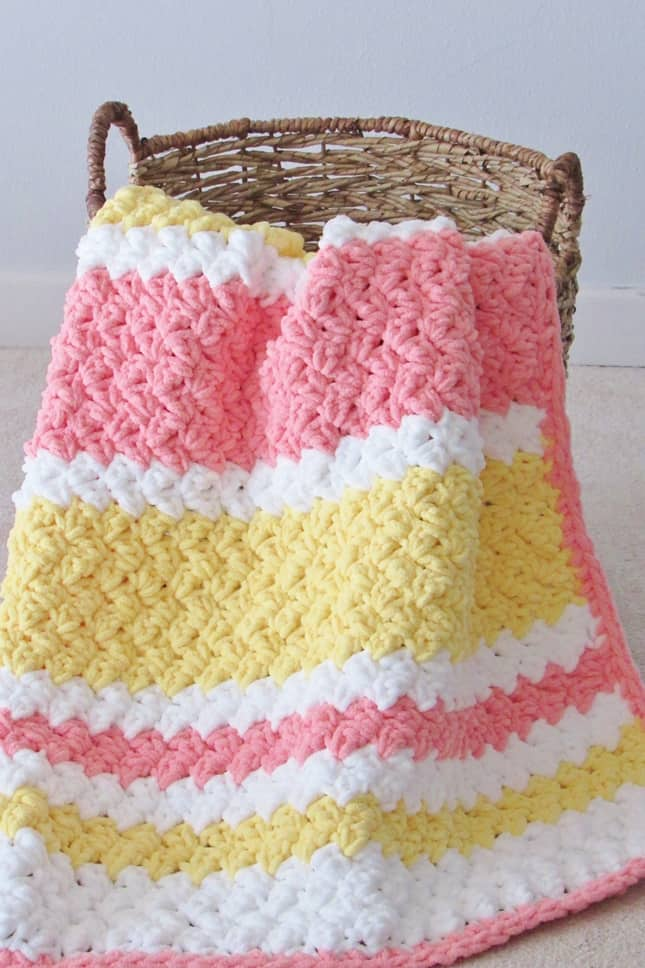 Crochet Blanket Pattern for Babies