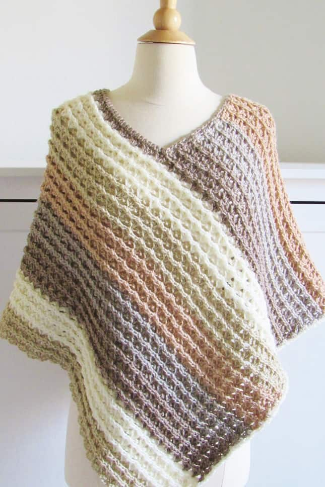 Pattern for Crochet Poncho