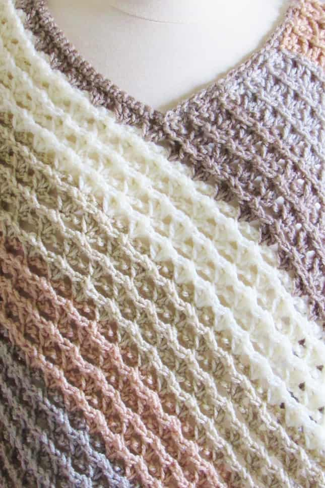 Crochet Poncho Pattern Stitch