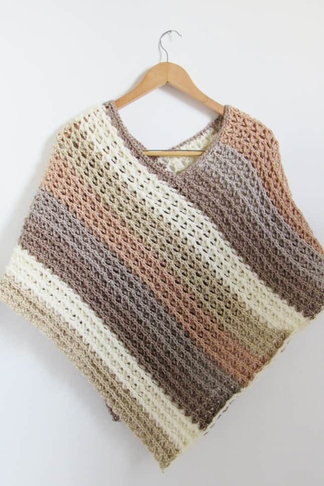 Crochet Poncho for Women