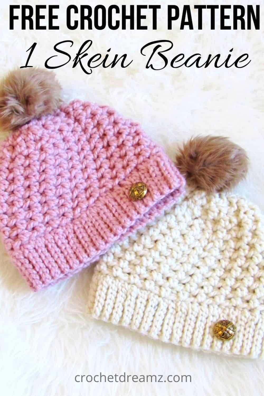 Easy Crochet Beanie Pattern
