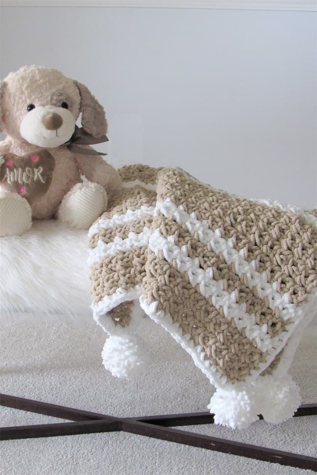 Quick Crochet Baby Blanket