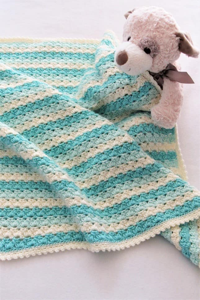 Crochet Afghan Pattern for Baby