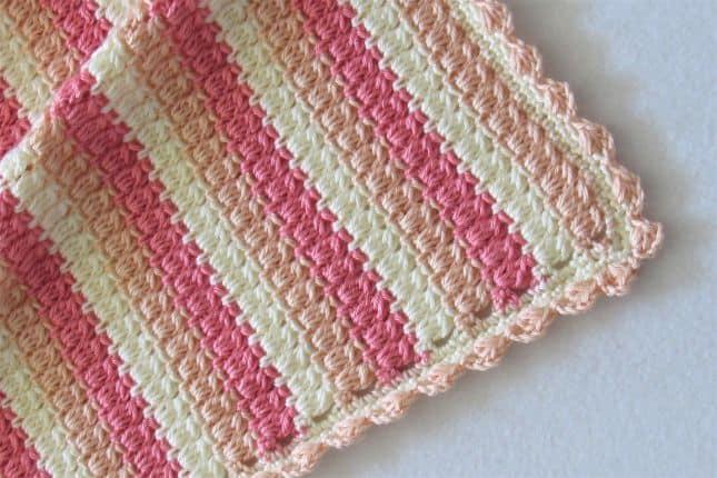 Crochet Cluster Stitch Afghan