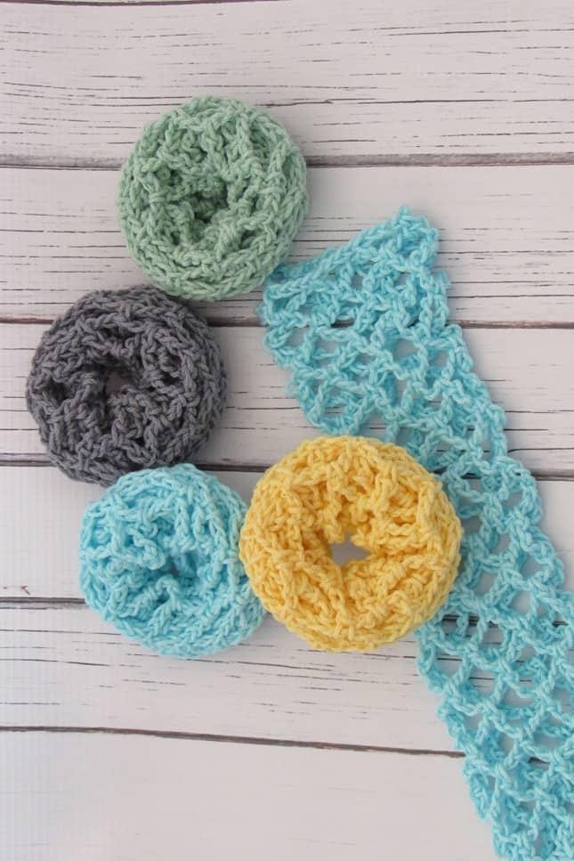 Crochet Scrubbie for Beginners