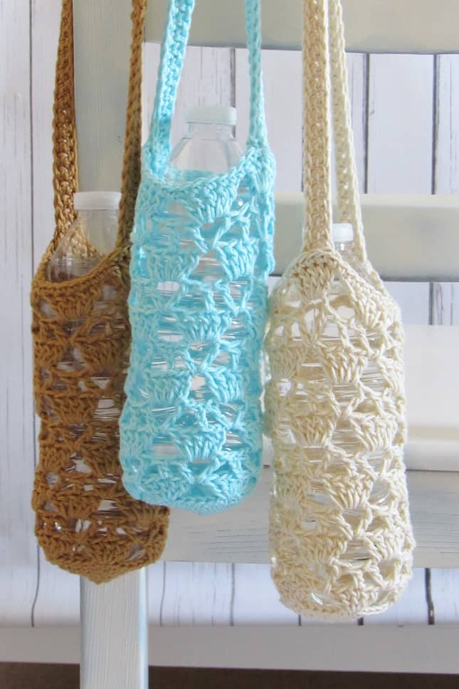 Crochet Water Bottle Carrier Pattern