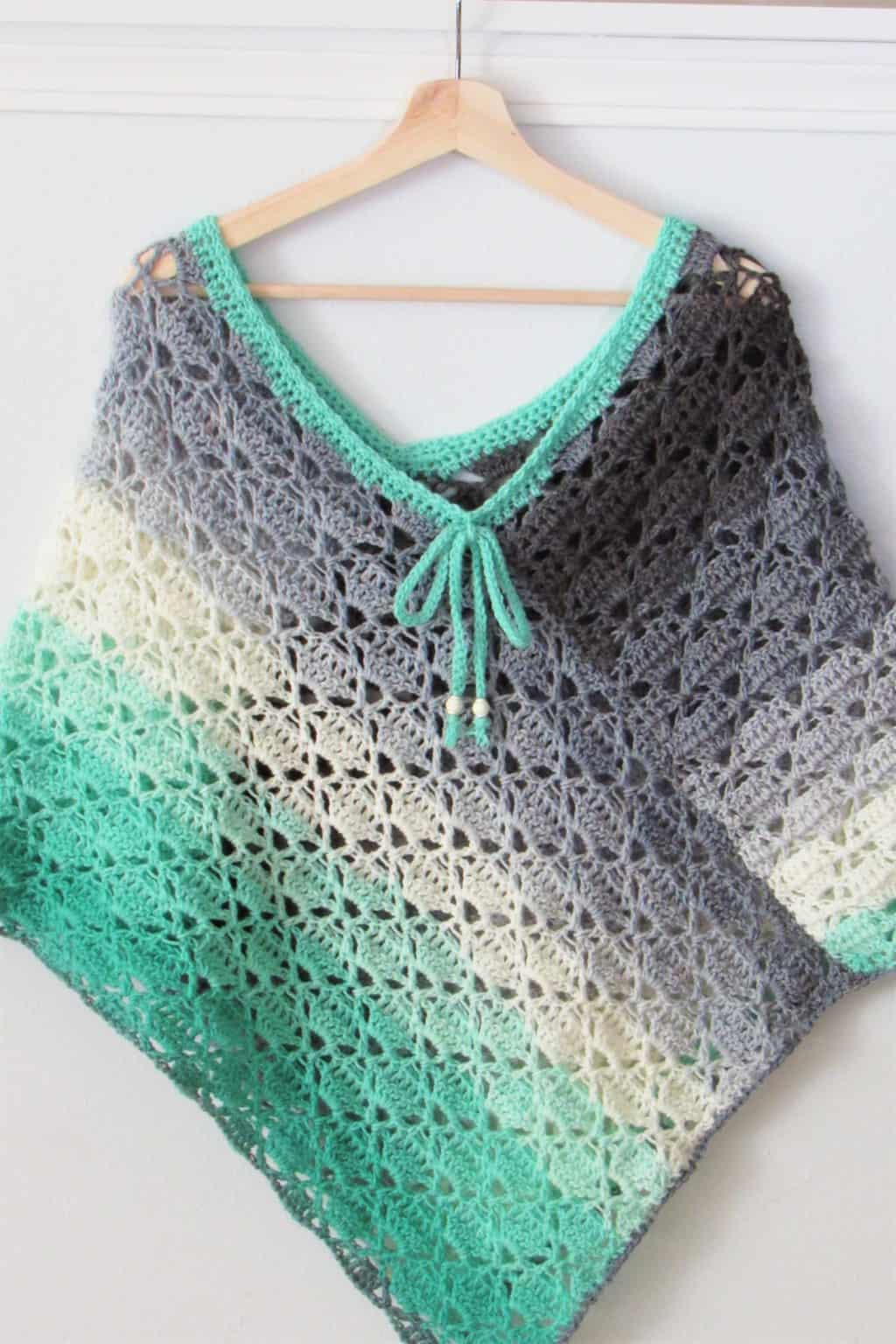Crochet Summer Poncho Pattern