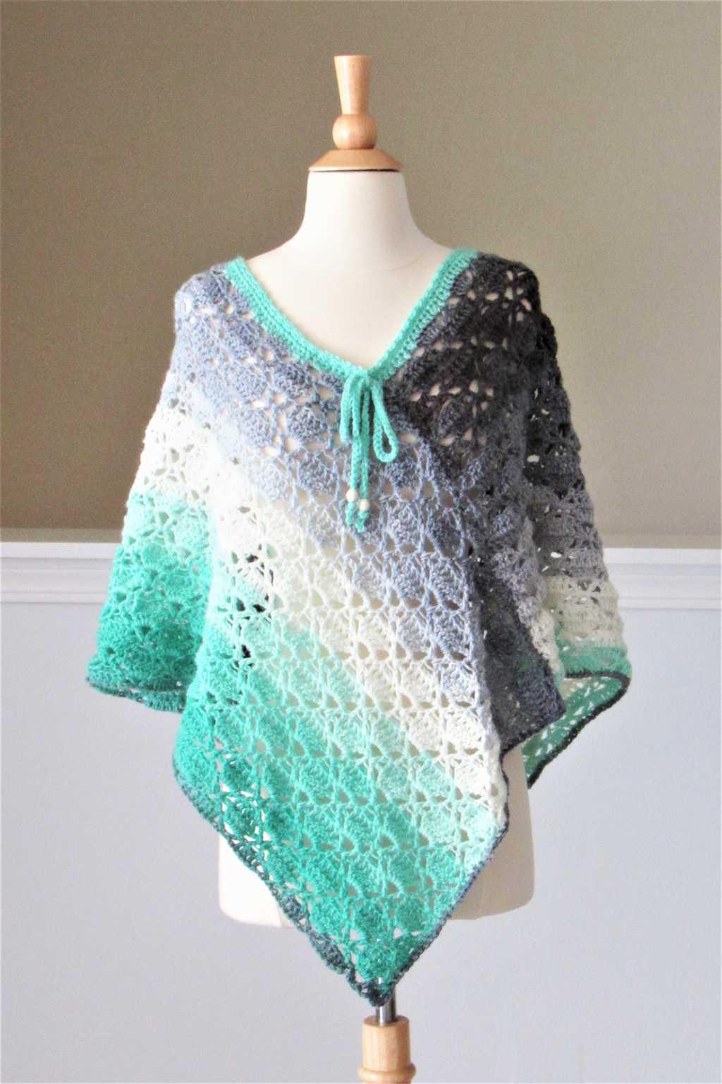 Crochet Summer Poncho
