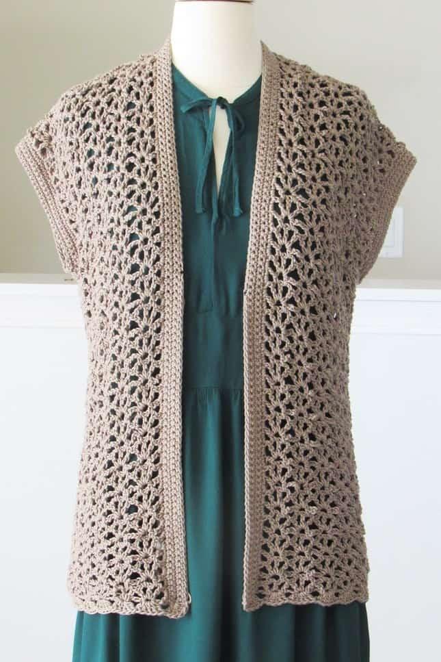 Lacy Crochet Cardigan Pattern