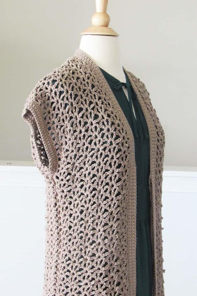Free Lacy Crochet Cardigan Pattern