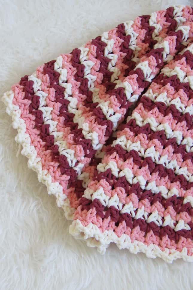 Easy to Crochet Baby Blanket
