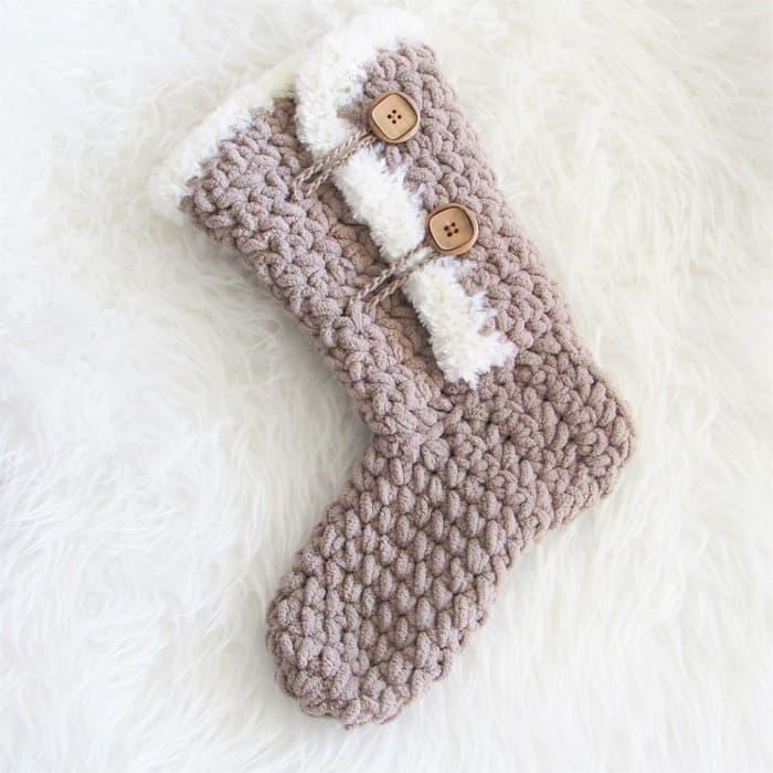 Bernat Baby Blanket Yarn Crochet Boots
