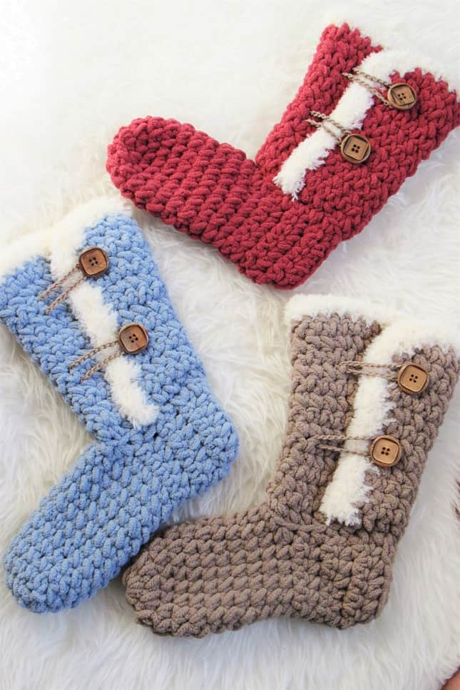 Free Crochet Boots