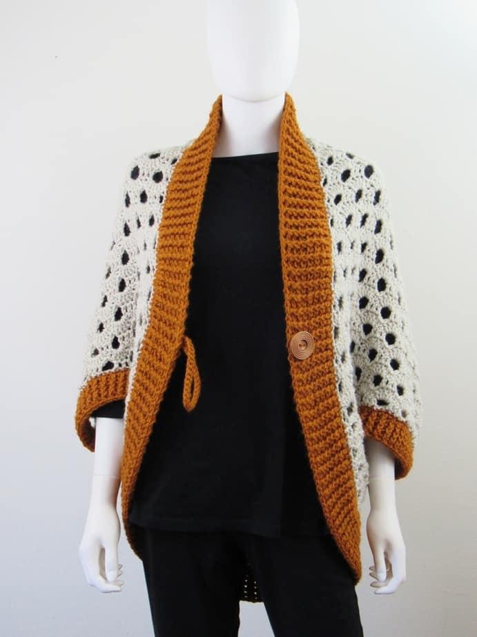 crochet cardigan for beginners