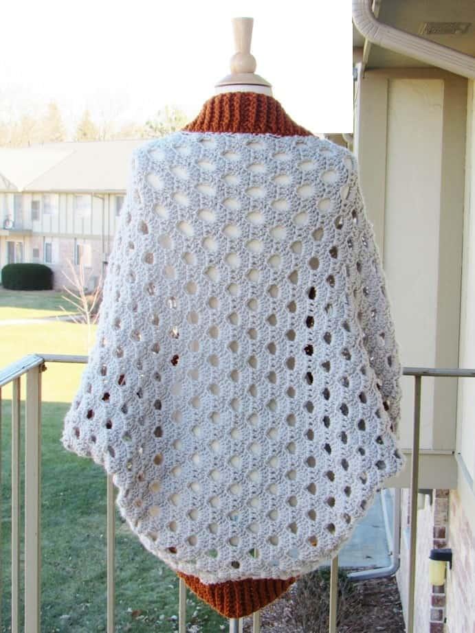 crochet blanket cardigan pattern