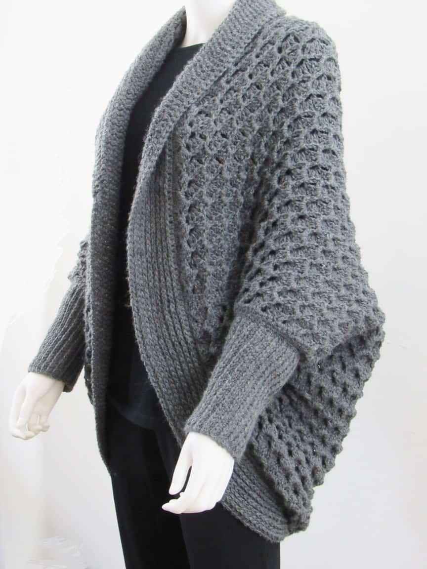 blanket cardigan crochet pattern free