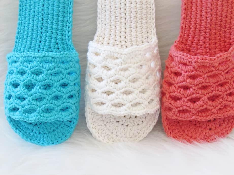 Crochet Sandals Pattern for Women