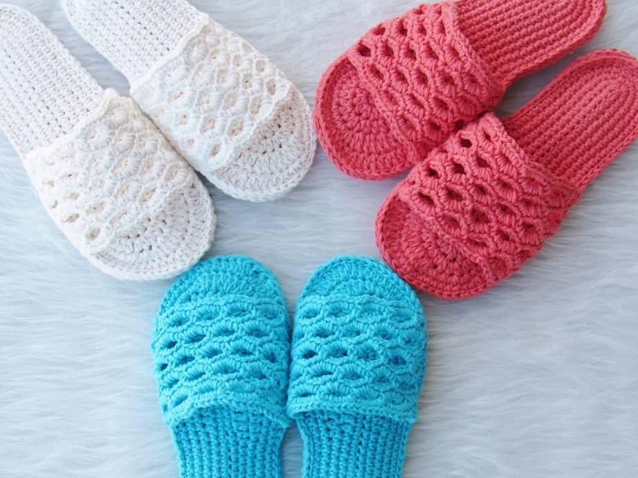 crochet sandals free pattern