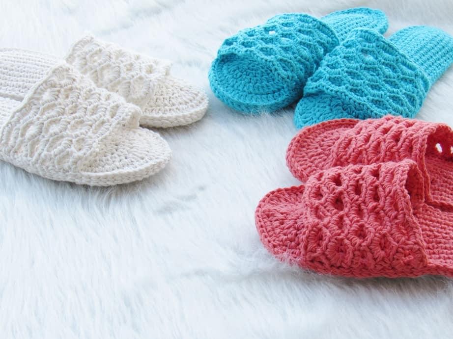 crochet sandals pattern