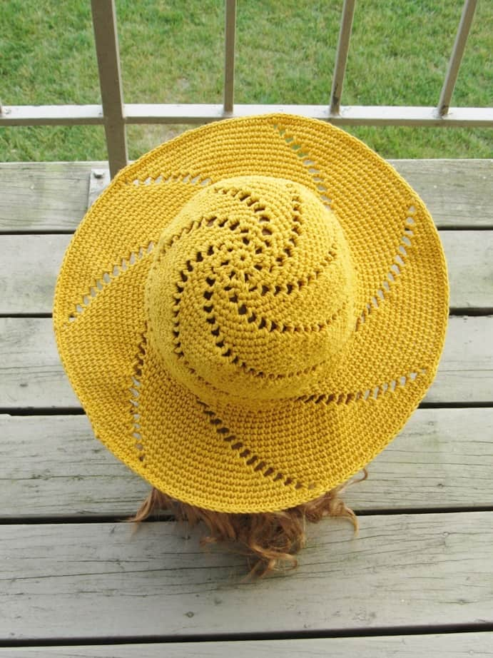 free crochet summer hat patterns for adults