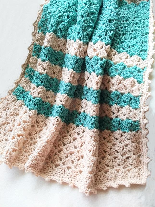 Lacy Crochet Blanket Pattern Free