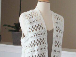 Free Crochet Vest Pattern for Women
