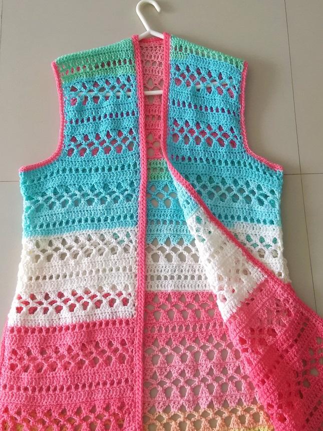 Free crochet vest