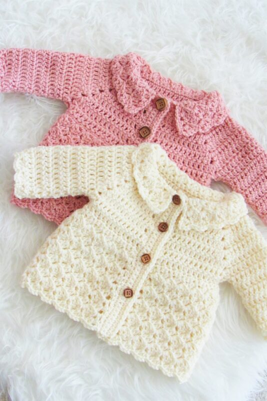 free crochet patterns for babies cardigan